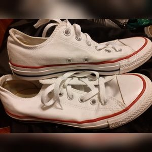 White converse sneakers womens